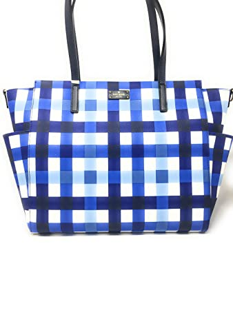 e115cac3275a Amazon.com   Kate Spade New York Blake Avenue Kaylie Baby Bag Diaper Bag  (Printed Blue)   Baby