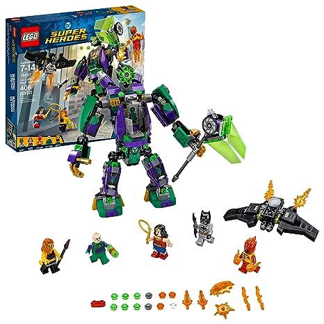 Amazon Lego Dc Super Heroes Lex Luthor Mech Takedown 76097