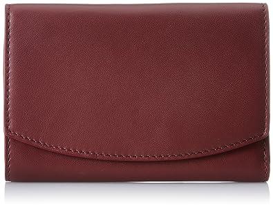 Skagen Denmark Skagen Compact Flap Wallet, Portefeuilles femme, Braun (Cordovan), 1.6x10.5x15 cm (B x H T)