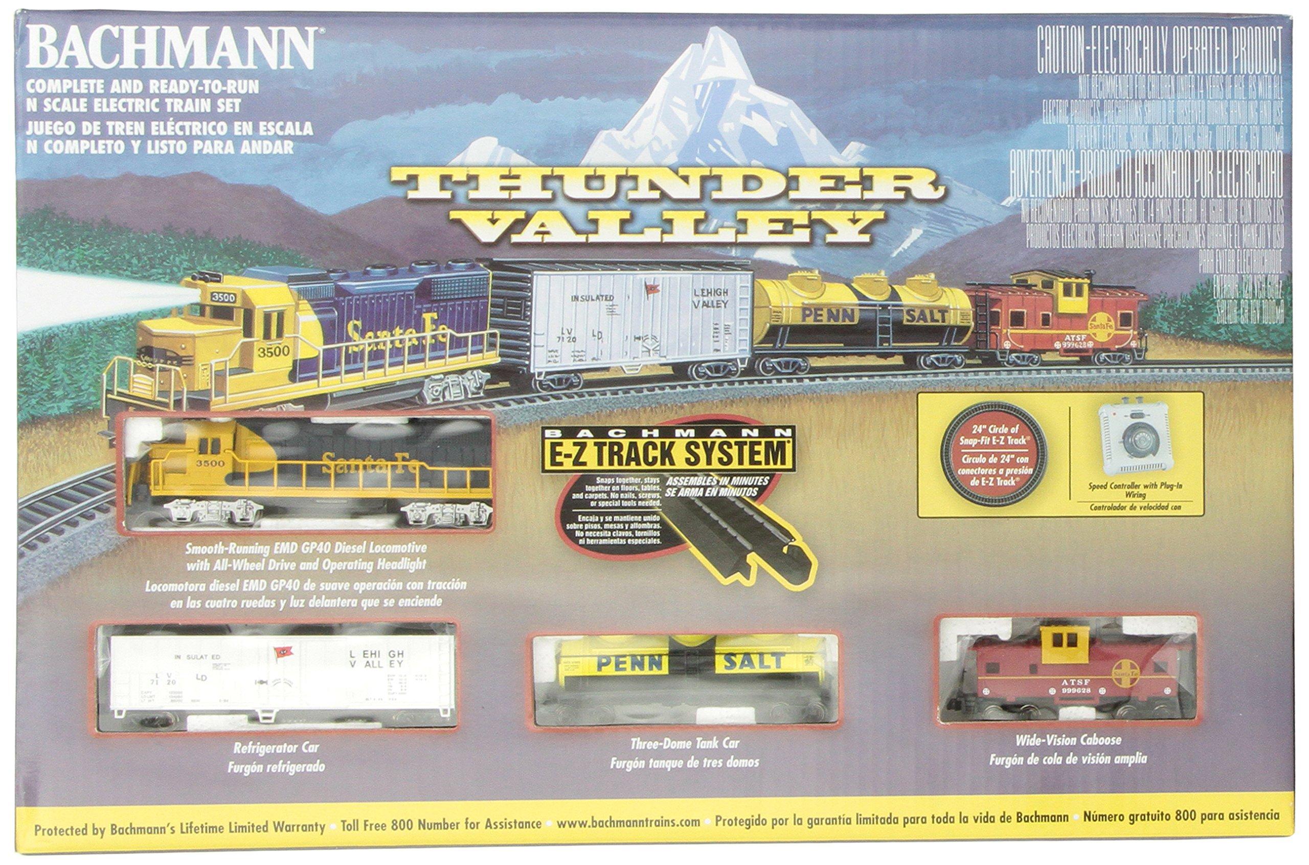 Bachmann Trains Thunder Valley Ready-to-Run N Scale Train Set