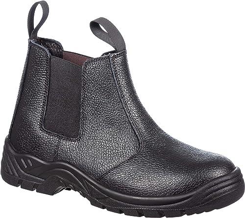 Mens Slip On Steel Toe Safety Work