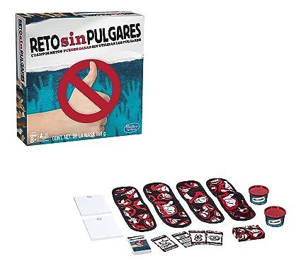 Hasbro Gaming Juego Reto Sin Pulgares Amazon Com Mx Juegos Y Juguetes
