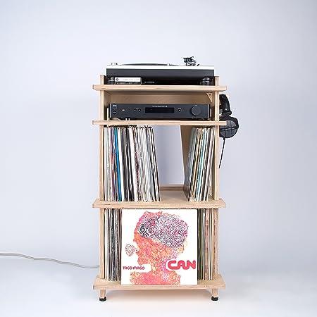 Estación de línea Phono Turntable Stand + almacenamiento de ...