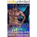Mated to the Alien Dragon King: Sci-Fi Alien Romance (Dragons of Ozar Book 3)