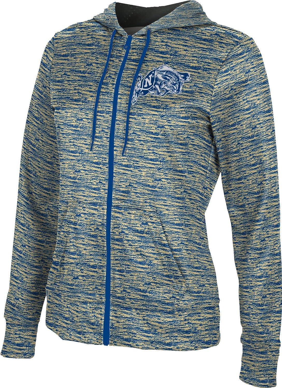 United States Naval Academy Girls Zipper Hoodie Brushed School Spirit Sweatshirt