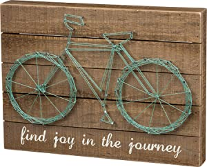 Primitives by Kathy 30451 String Art Box Sign, Find Joy