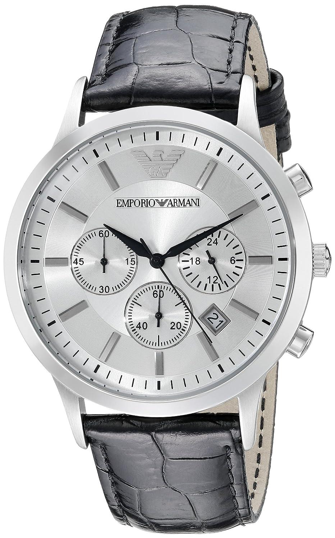 Emporio Armani Reloj Hombre de Analogico con Correa en Piel AR2432