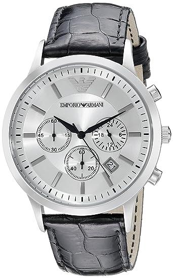 62869eea42e4 Emporio Armani Reloj Hombre de Analogico con Correa en Piel AR2432  Emporio  Armani  Amazon.es  Relojes