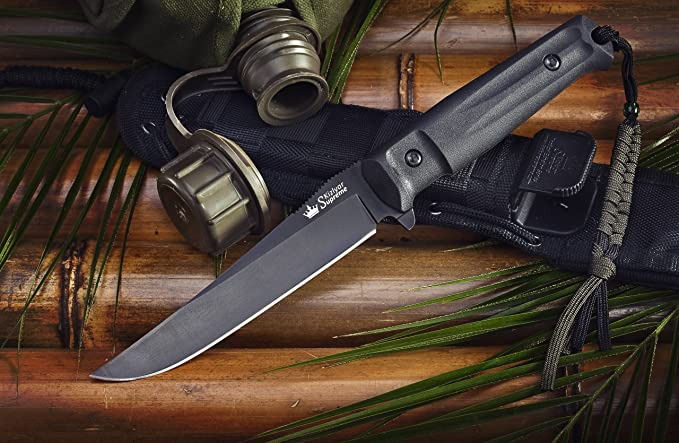 Amazon.com: Kizlyar kk0011 Croc D2 Ruso Made Titanio ...