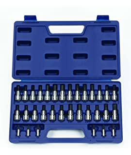 Snap-on Industrial Brands Metric 6pc Torx bit socket set T10-T30-30908