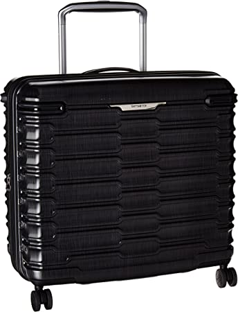 Samsonite Stryde Hardside Glider Luggage, Charcoal, Checked-Medium 22-Inch