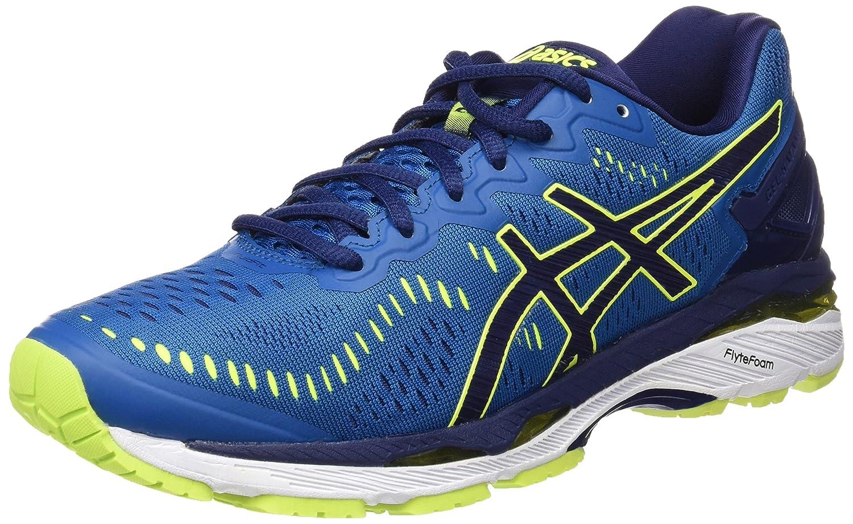 Asics T646N4907, Zapatillas de Running para Hombre 40.5 EU|Azul (Thunder Blue/Safety Yellow/Indigo Blue)
