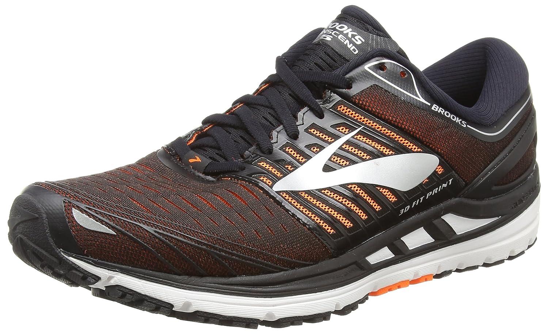 Multifärgad (svart    orange  silver 092) Brooks herrar Transcend 5 springaning skor  här har det senaste