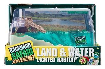 Backyard Safari Land And Water Lighted Habitat