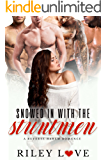 Snowed In With The Stuntmen: A Reverse Harem Romance (Behind the Scenes Book 1)