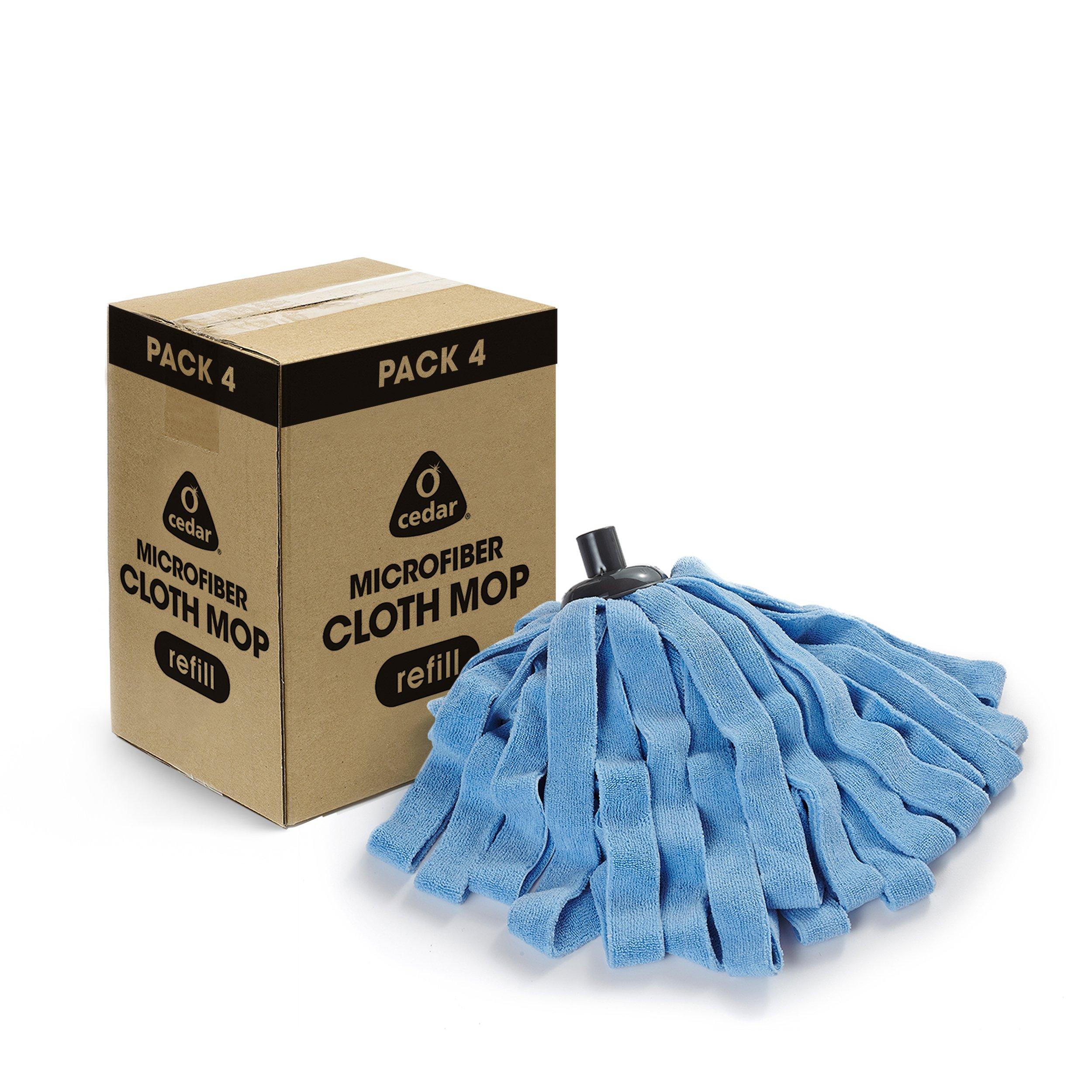O-Cedar Microfiber Cloth Mop Refill (Pack of 4) by O-Cedar (Image #1)