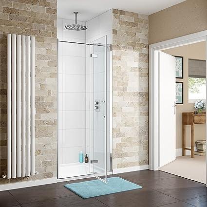 1100 x 760 mm moderno cuarto de baño con cabina de ducha fácil ...