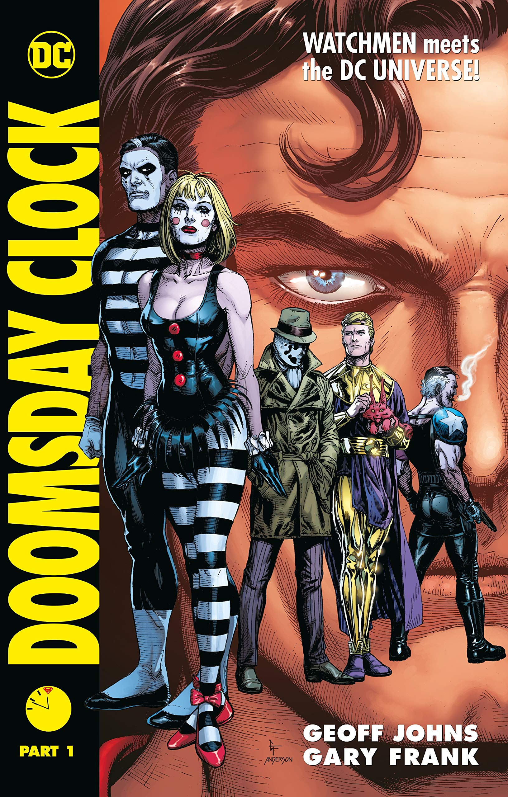 Amazon Com Doomsday Clock Part 1 9781779501202 Johns Geoff