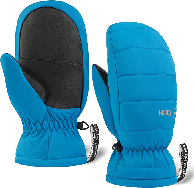 Snow /& Ski Waterproof Youth Gloves for Boys /& Girls Kids Winter Gloves
