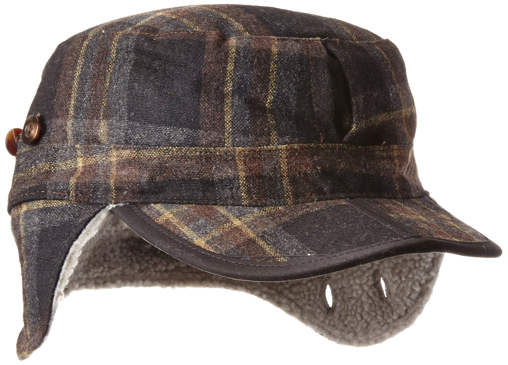 Outdoor Research Yukon Cap, Black/Earth, Large