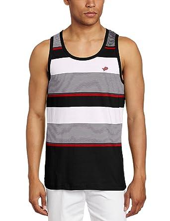 847555be617dfd Amazon.com  Southpole Men s Pin Stripes Tank Top  Clothing
