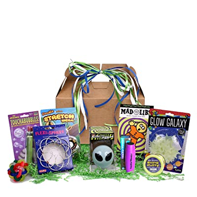 Beyond Bookmarks Outta This World Toys and Activities - Birthday or Special Occasion Gift Basket for Boys: Toys & Games