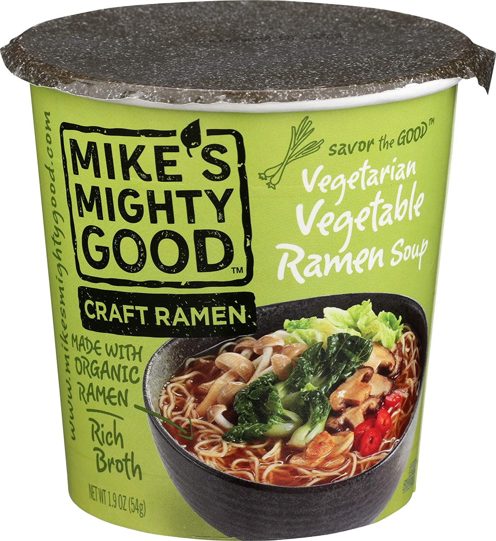 Mikes Mighty Good Ramen Soup 1.9 Oz Vegetable