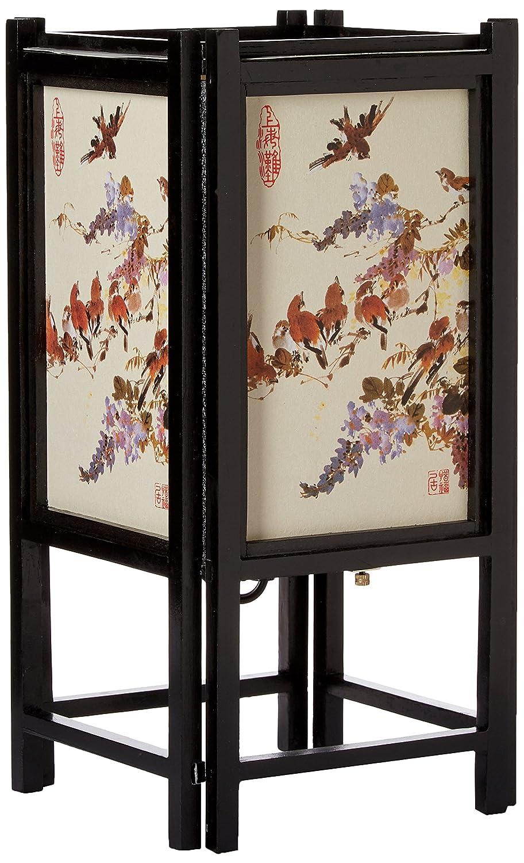 "Oriental Furniture 14/"" Art Shoji Lamp"