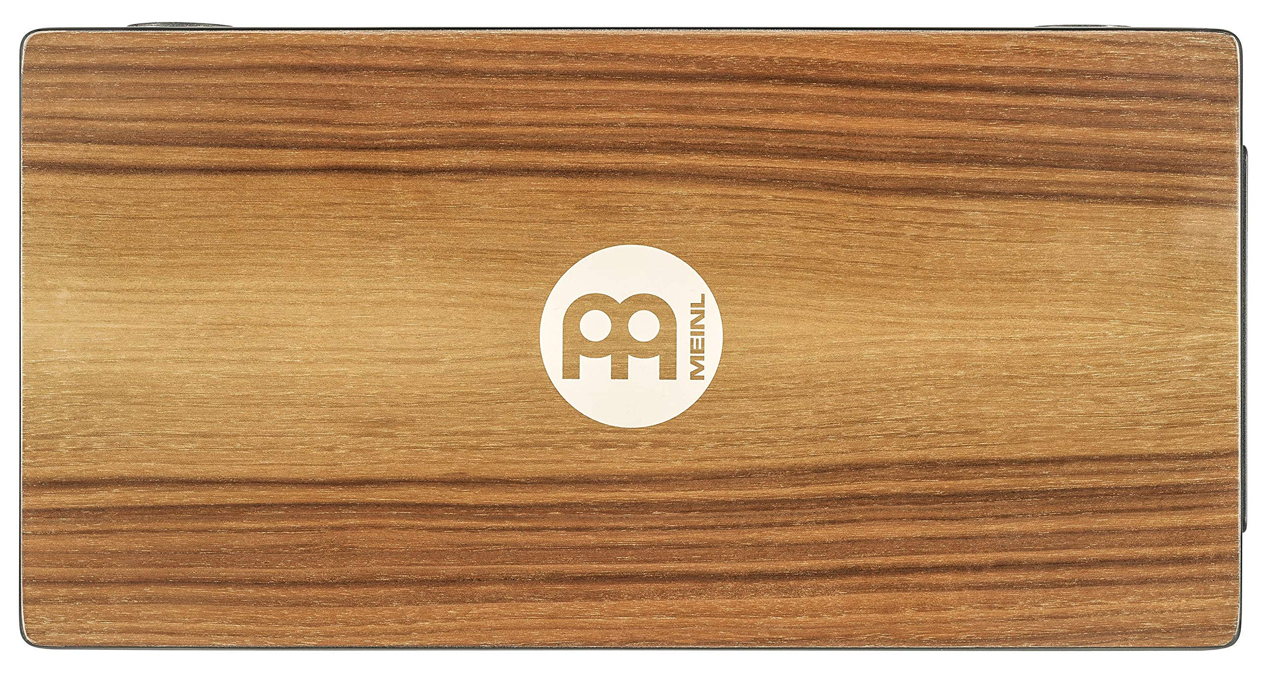 Meinl Pickup Slaptop Cajon Box Drum with Internal Snares and Forward Projecting Sound Ports -NOT MADE IN CHINA - Walnut Playing Surface, 2-YEAR WARRANTY (PTOPCAJ2WN) by Meinl Percussion (Image #4)