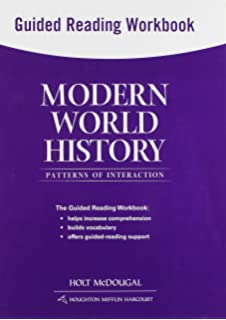 Amazon world history patterns of interaction workbook modern world history patterns of interaction guided reading workbook sciox Choice Image