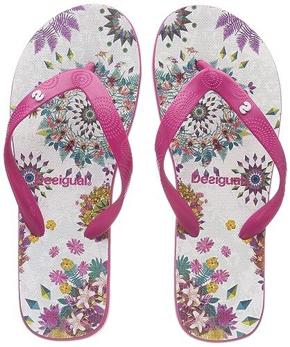 Desigual Damen Shoes_Flip Flop Galactic Zehentrenner, Mehrfarbig (3048 Lila Flandes), 39 EU
