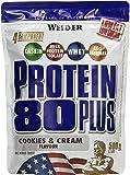 Weider, 80 Plus Protein, Cookies & Cream, 1er Pack (1x 500g)