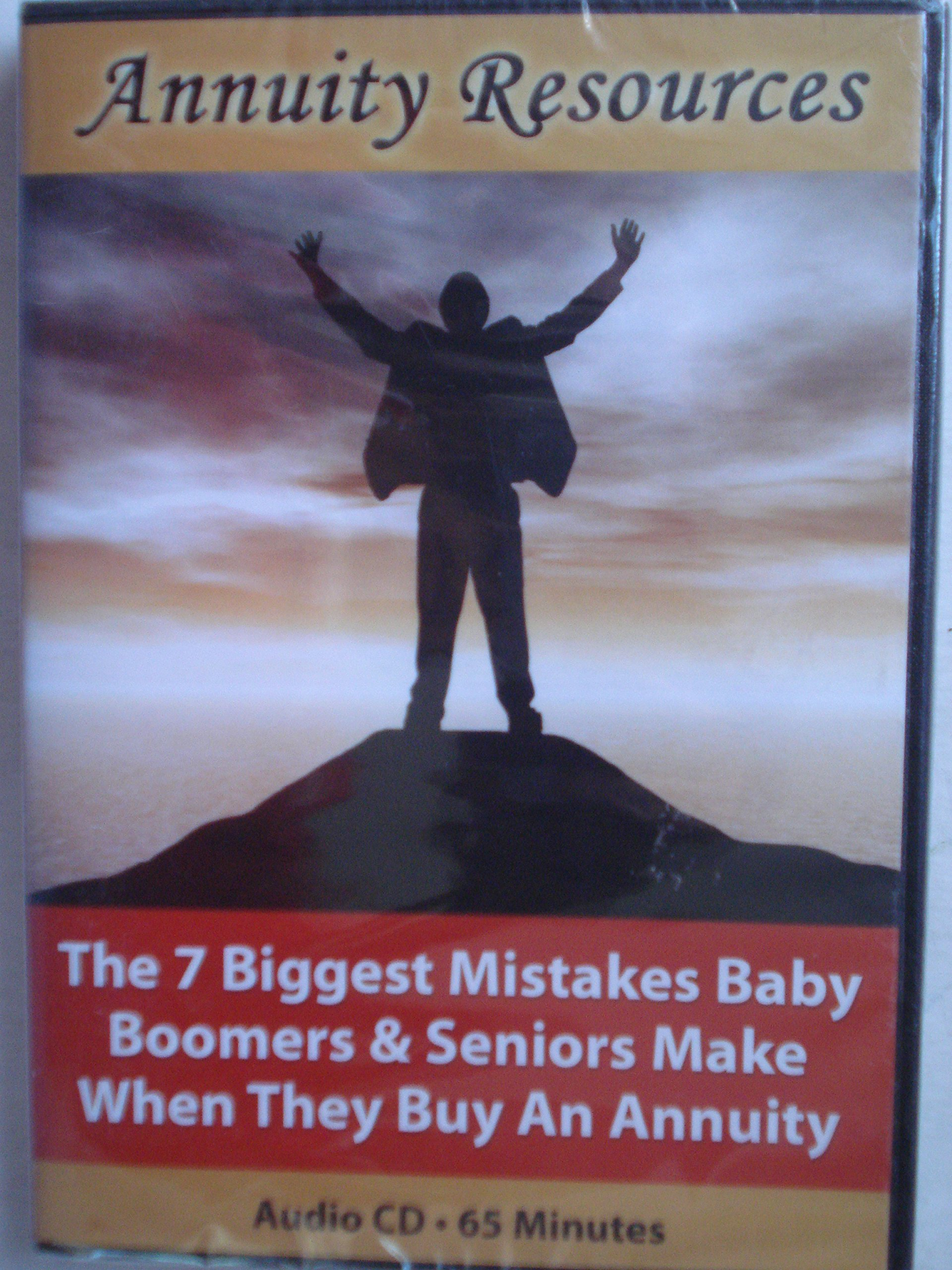 Read Online The 7 Biggest Mistakes Baby Boomers & Seniors Make When They Buy An Annuity pdf epub