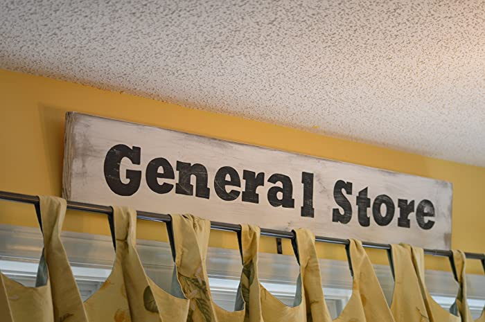 Amazon Com General Store Sign Farm House Kitchen Sign Rustic Home