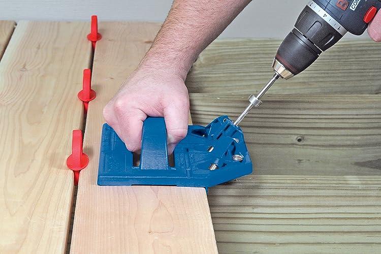 Kreg deck fastener system