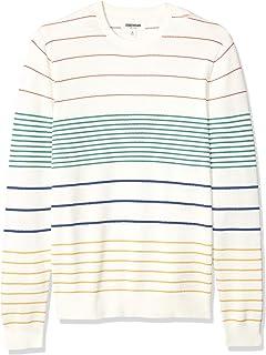 Marca Amazon - Goodthreads - Jersey de algodón suave a rayas ...
