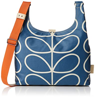 Womens Giant Linear Stem Midi Sling Shoulder Bag Orla Kiely 2cpOVxKPd