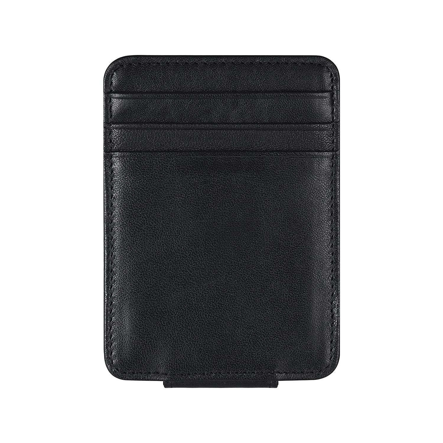 Travami RFID Blocking Slim Minimalist Money Clip Wallets for Men