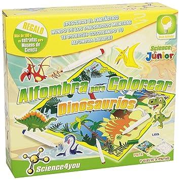 Science4you Alfombra Para Colorear Dinosaurios Juguete Científico