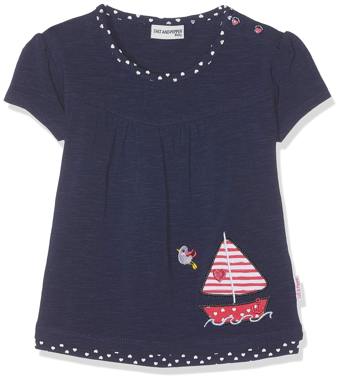 B/éb/é Fille Salt /& Pepper B T-Shirt Meer Uni Stick Boot