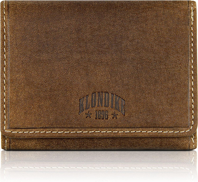 Klondike 1896 Cartera de piel auténtica