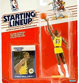 los angeles 40181 92b59 Kareem Abdul-Jabbar 1988 NBA Starting Lineup