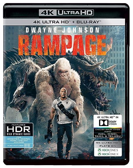 f2a6ead48ca1 Amazon.in  Buy Rampage (4K UHD   HD) DVD