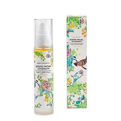 Aceite facial antioxidante| Nutre tu piel en profundidad | Contiene 50 ml | | Sin