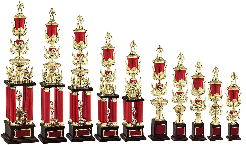 WIN 優勝トロフィー JA-2312 B07H76KNPH J:高さ420mm 約350g|11 ゴルフ 女子  J:高さ420mm 約350g