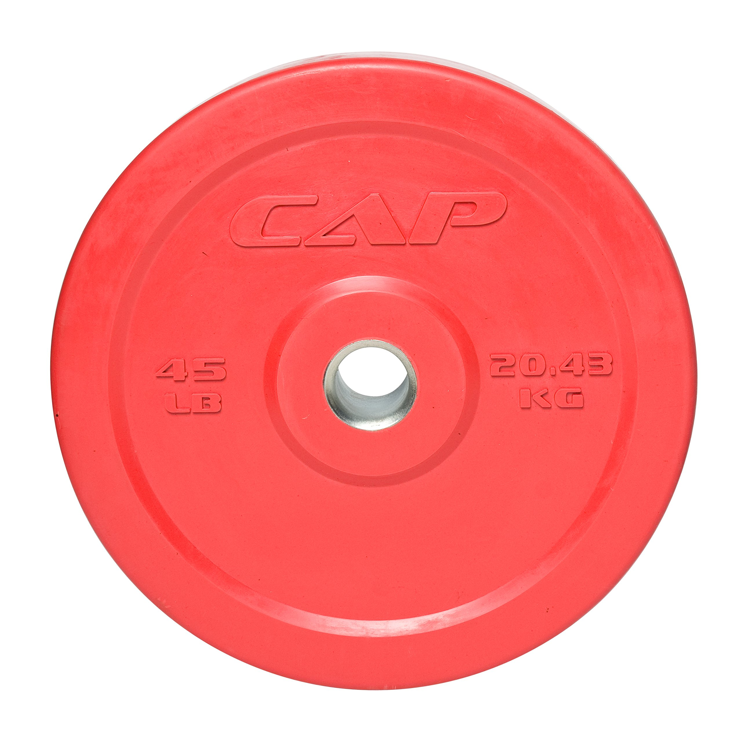 CAP Barbell Olympic 2'' Rubber Bumper Plate