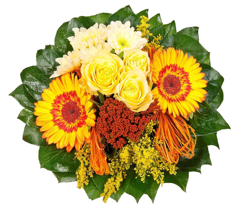Blumenstrauß  Sonnenschein mit gelben Rosen