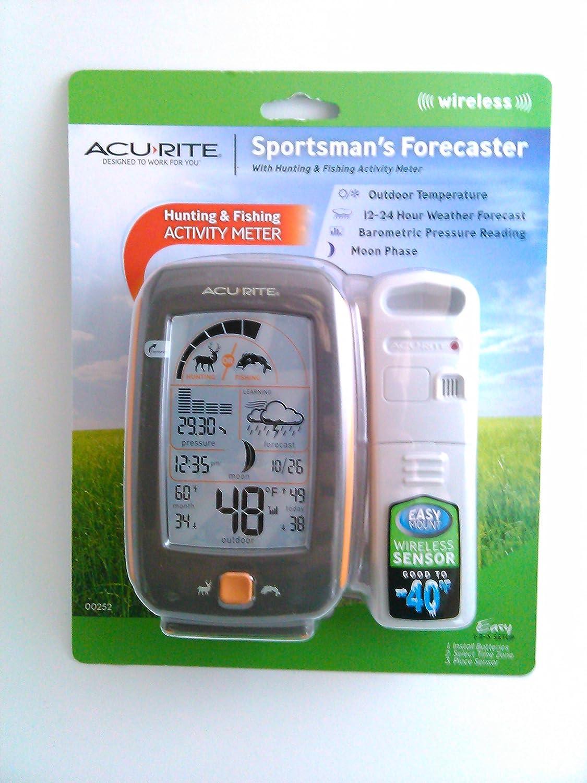 amazon com acurite sportsman u0027s hunting and fishing activity meter