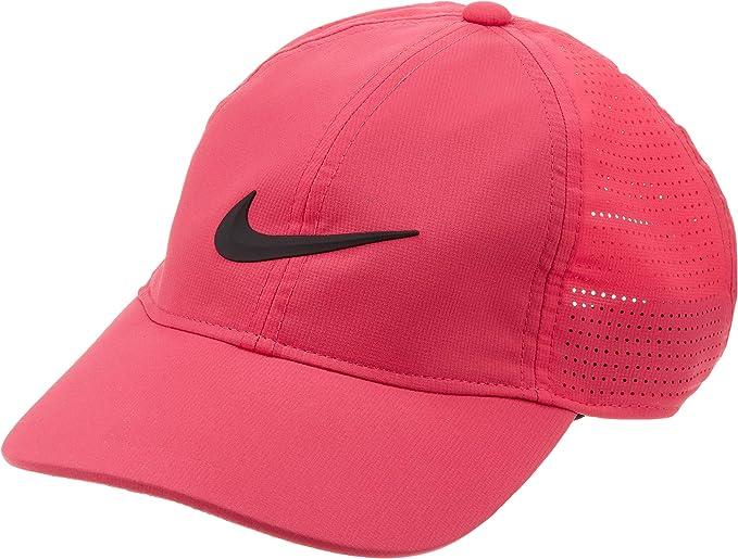 Nike 892721 Gorra de béisbol, Mujer, Rosa (Rosa 666), One Size ...