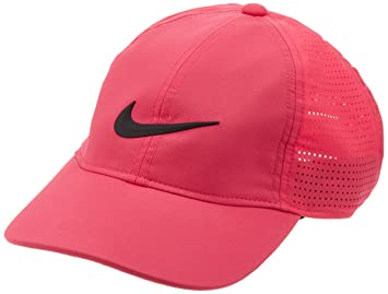 Nike Women Aerobill Legacy 91 Perforated Cap - Rush Pink Anthracite White 7bc4d3b0085